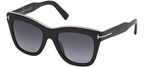 Sunglasses Tom Ford FT 0685 Julie 01C shiny black/smoke mirror