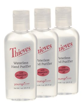 Young Living Waterless Hand Sanitizer 3 Pack