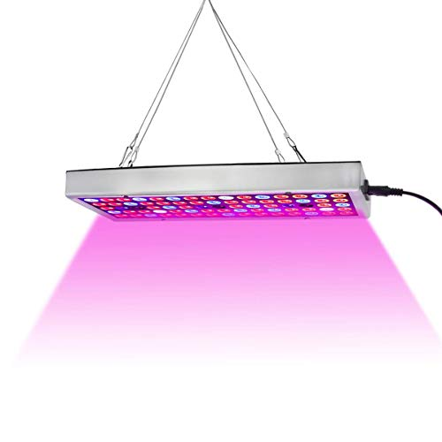 LED Grow Lights, Full Spectrum Panel Grow Lamp with IR & UV LED Plant Lights for Indoor Plants,Micro Greens,Clones,Succulents,Seedlings