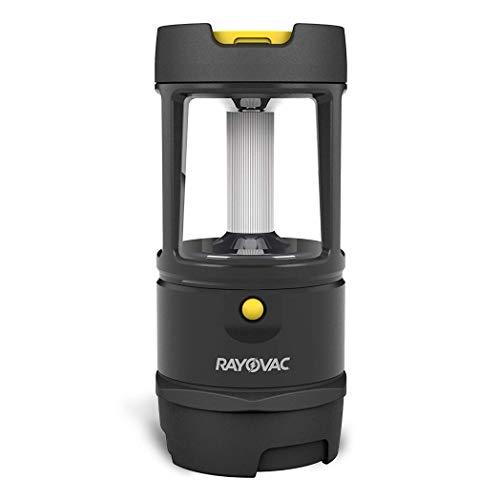 Rayovac Virtually Indestructible LED Camping Lantern Flashlight, 600 Lumens Battery Powered LED Lanterns for Hurricane Supplies, Survival Kit, Camping Accessories, IP67 Waterproof
