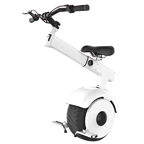LMM Adult Electric Scooter Electric Scooters Electric Scooter Electric Unicycle,Smart Scooter,Somatosensory Mode,60V / 800W Motor,The Fastest Speed is 15Km / H,Unisex Adult Unicycle with Seat and Han