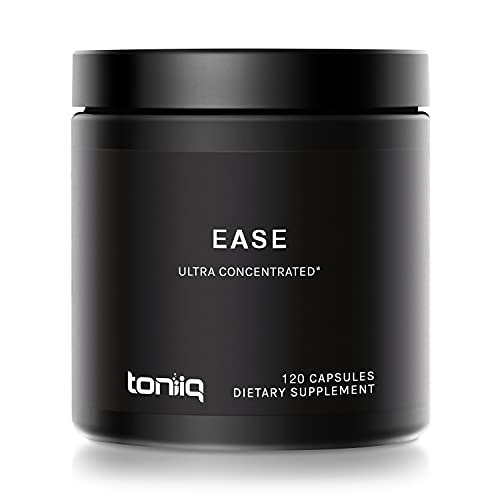 Ease by Toniiq with DHM - Full Liver Support for a Night Out - 120 Capsules - 50x Super Concentrated Extract