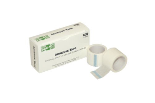 First Aid Only 8-002 Medical Adhesive Tape Roll, 5 yds Length x 1 Width (Box of 2)