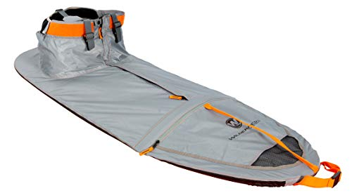 Wilderness Systems TrueFit Spray Skirt - Size - for Pungo and Other Sit-Inside Kayaks - W13, Grey