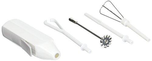 Norpro Cordless Mini Mixer, 5 Piece Set, One Size, White