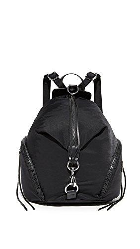 Rebecca Minkoff womens Julian Nylon Backpack, Black, One Size US