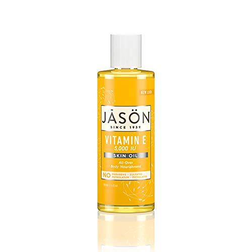 Jason Skin Oil, Vitamin E 5,000 IU, All Over Body Nourishment, 4 Oz (Packaging May Vary)