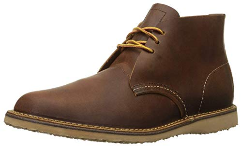 Red Wing Heritage Men's Weekender Chukka, Copper Rough & Tough, 9.5 D US