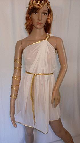 Grecian Toga Roman Egyptian Tunic Aphrodite Gown Venus dress Spartan Goddess costume Khaleesi game of thrones role play Kajira camisk