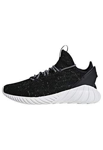 adidas Tubular Doom Sock Primeknit Mens in Core Black/White, 8