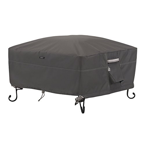 Classic Accessories Ravenna Water-Resistant 36 Inch Square Fire Pit Cover