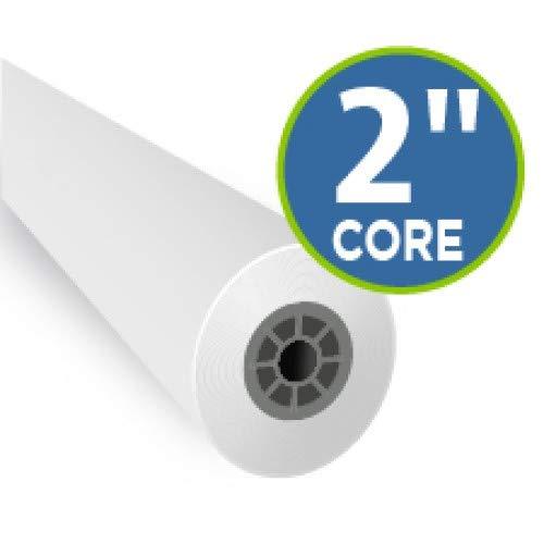 4 Mil Double Matte Inkjet Mylar Film 24' x 120', 2' core roll, 1 roll per carton