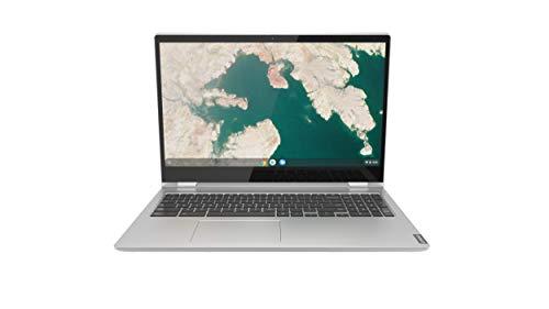 Lenovo Chromebook C340 2-in-1 Laptop, 15.6' FHD (1920 X 1080) Touchscreen Display, Intel Pentium Gold 4417U Processor, 4GB DDR4 RAM, 32GB SSD, Chrome OS, 81T90003US, Mineral Grey