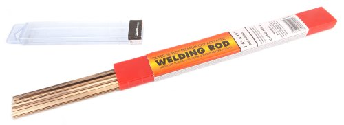 Forney 48571 Super Sil Flo Brazing Rod, 1/8-Inch, 1/2-Pound