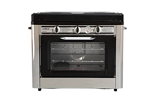 Camp Chef Outdoor Camp Oven, Dimensions with handles: 15 in. L x 25 in. W x 18 in. H