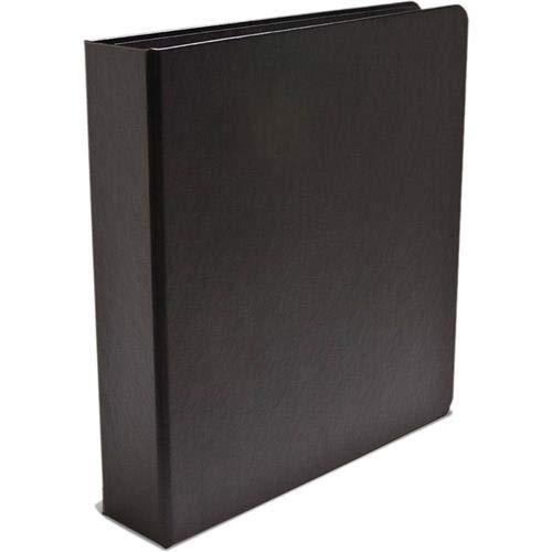 Print File ALB-GB Black Buckram 3-Ring Binder Album