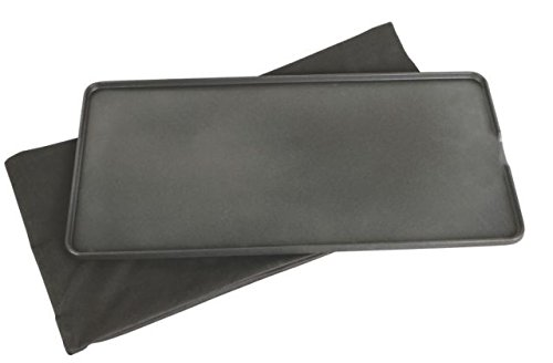 Coleman Even Temp Full Size Aluminum Griddle for Camping Stove, Black, Fits Coleman Even-Temp