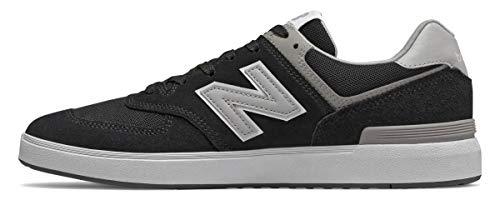 New Balance Numeric AM574 Black/Grey 11