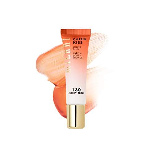 Milani Cheek Kiss Liquid Blush Makeup - Blendable & Buildable Cheek Blush, Lightweight Liquid Blusher and Cheek Color