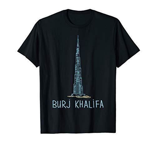 Burj Khalifa T-shirt Tee T Shirt Tshirt