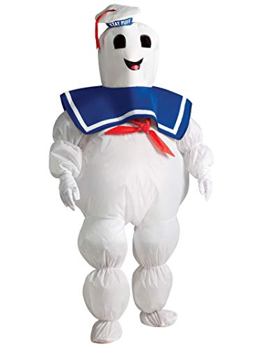 Rubie's Inflatable Stay Puft Ghostbusters Costume for Boys, White, Standard