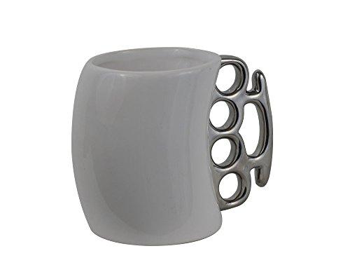 Travel Mugs White Knuckle Duster Ceramic Coffee Mug