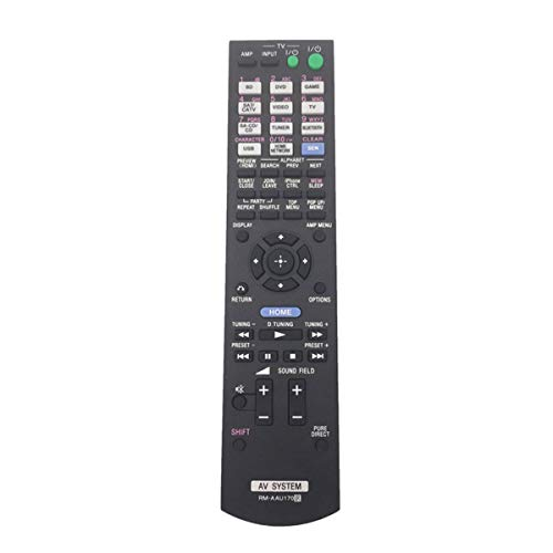 Remote Control RM-AAU170 for Sony STRDN840 RM-AAU073 RM-AAU120 RM-AAU168 RMAAU169 RM-AAU170 RM-AAL008 RM-AAU154 STR-DH540 148019811 149205111 Home Theater System