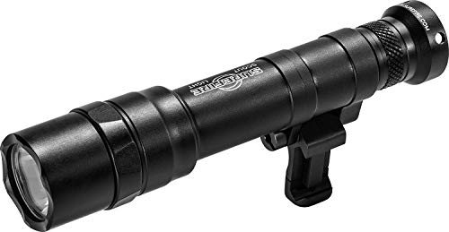 SureFire Dual Fuel Scout Light Pro LED WeaponLight, Black (M640DF-BK-PRO)