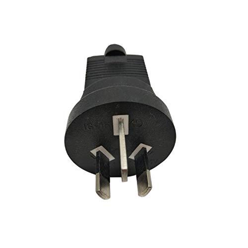 Tekit PDU UPS Power Plug Converter adapter,USA NEMA 5-15R to Australia AU/New Zealand AS3112 Three Prong Molded Travel Plug Adapter