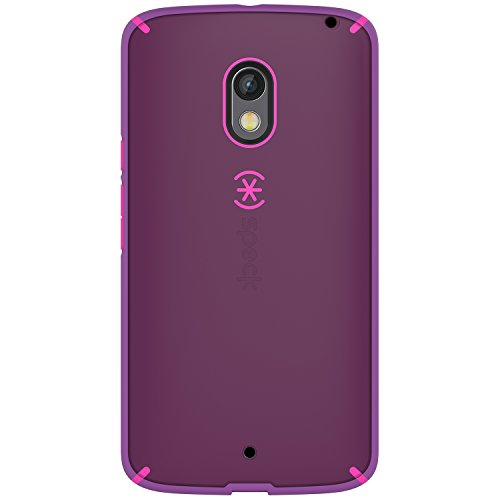 Speck Products Mighty Shell Cell Phone Case for Motorola Droid Maxx 2 - Retail Packaging - Raisin Purple