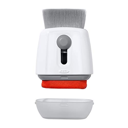 OXO Good Grips Sweep & Swipe Laptop Cleaner, White, One Size