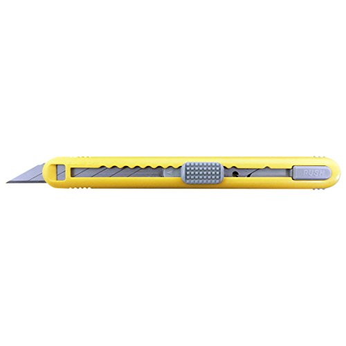 NT Cutter ABS Grip 30-Degree Multi-Blade Cartridge Knife (A-553P),Yellow