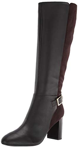 Bandolino Bilya Dark Brown Leather Boot, 10 M US
