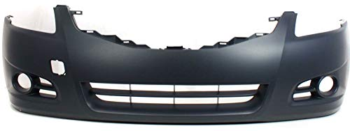 Front Bumper Cover Compatible with 2010-2012 Nissan Altima Primed Sedan