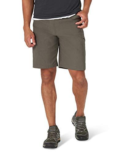 Wrangler Authentics Men's Performance Comfort Flex Waist Cargo Short, sagebrush, 38