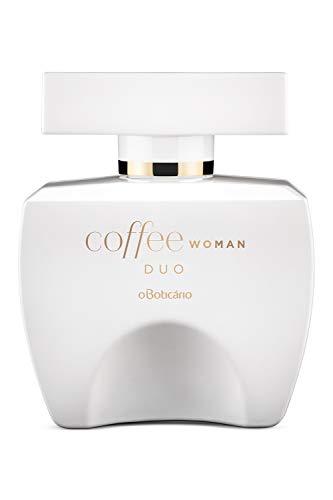 Coffee Duo Woman Eau de Toilette by O Boticario | Long Lasting Perfumes for Women | Floral Fruity Fragrance For Women (3.4 fl oz)