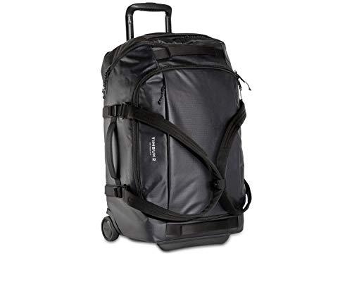 TIMBUK2 Quest Rolling Backpack Duffel, Jet Black, Medium