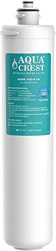 AQUA CREST H-104 Under Sink Water Filter, Replacement Cartridge for Everpure H-104, EF-3000, PBS-400, OW200L, 6TO-BW, MR-100, MR-225, EV9262-71, EV9612-11, EF9857-00, EF9857-50, EV9270-86, EV9619-01