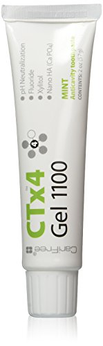 CariFree CTx4 Gel 1100 (Mint): Anti-Cavity Toothpaste | Cavity Prevention | Freshens Breath and Moistens Mouth | Dentist Recommended for Oral Care