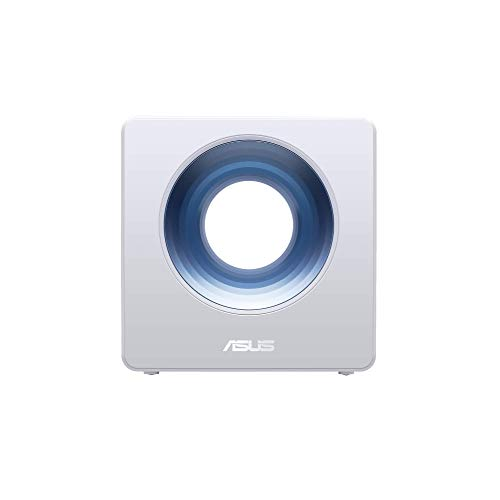 ASUS AC2600 WiFi Router (Blue Cave) - Dual Band Gigabit Wireless Router, Featuring Intel WiFi Technology, Works with Alexa, AiMesh Compatible, Included Lifetime Internet Security , White