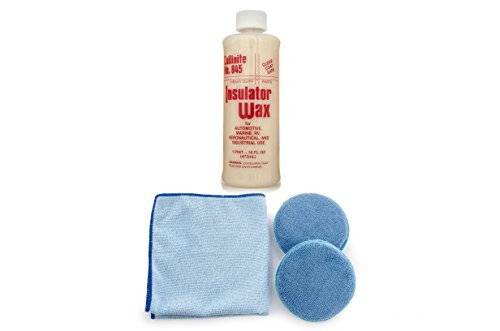 Collinite 845 Insulator Wax Microfiber Towel and Applicator Combo (color may vary)