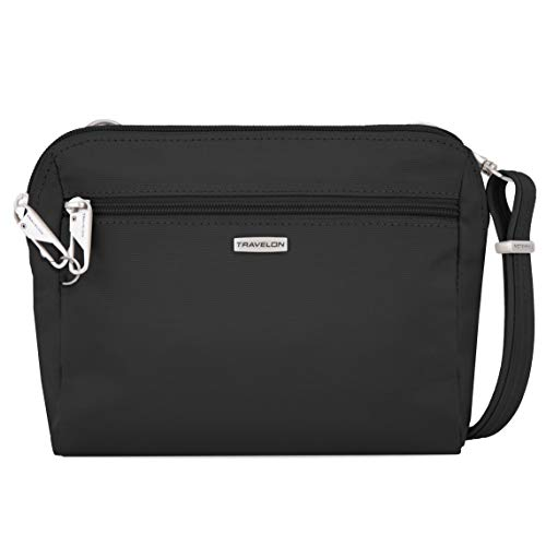 Travelon Anti-Theft Convertible Crossbody Classic Waist Pack Bag Pouch Purse New