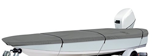 Classic Accessories Lunex RS-1 Boat Cover For Utility/Fishing Boats 12' - 14' L, Up to 68' W