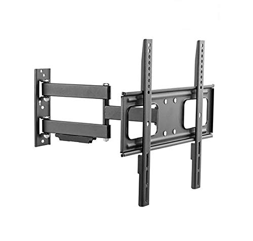 """Mount Plus MP-LPA36-443W Outdoor Full Motion Swivel Weatherproof Tilt TV Wall Mount for Most 32""""~60"""" TVs Perfect Solution for Outdoor TV (Max VESA 400x400)"""
