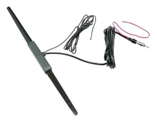 Jensen AN150SR AM/FM Antenna, Amplified Glass Mount