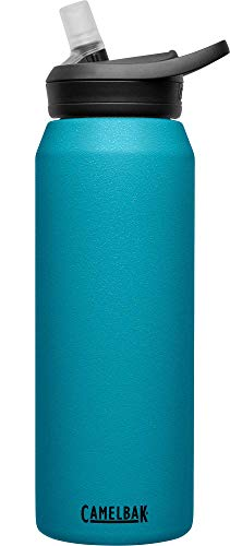CamelBak Eddy+ Vacuum Insulated Stainless Steel Water Bottle - 32oz, Larkspur (1650403001)