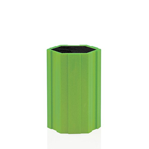 Kapoosh Hex-Connex Universal Knife Caddy- 5 Inch Lime Green