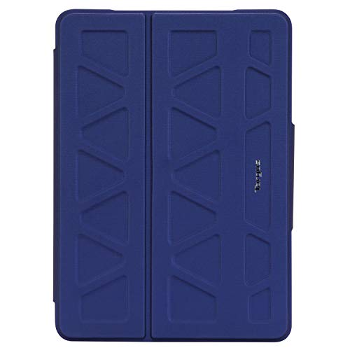 Targus Pro-Tek Case for Apple iPad (7th Gen) 10.2-Inch, iPad Air and iPad Pro 10.5-Inch with Slim Trifold Stand Cover, Stylus Holder, Magnetic Closure, Blue (THZ85202GL)