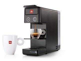 Illy 60296 y3.2 Espresso and Coffee Machine, 12.20x3.9x10.40, Black