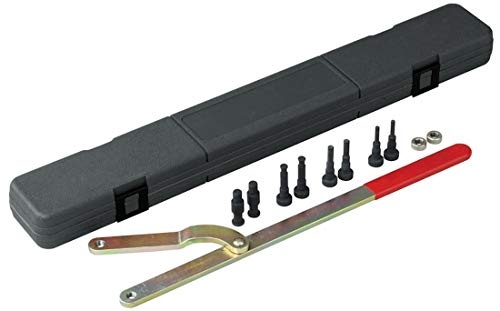 OTC 4754 Universal Pulley Holder Wrench with Interchangeable pins